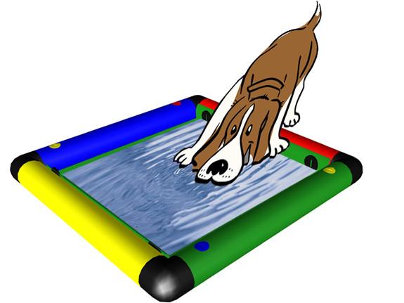 Welpenlernschule Hunde Schnüffel-Platte